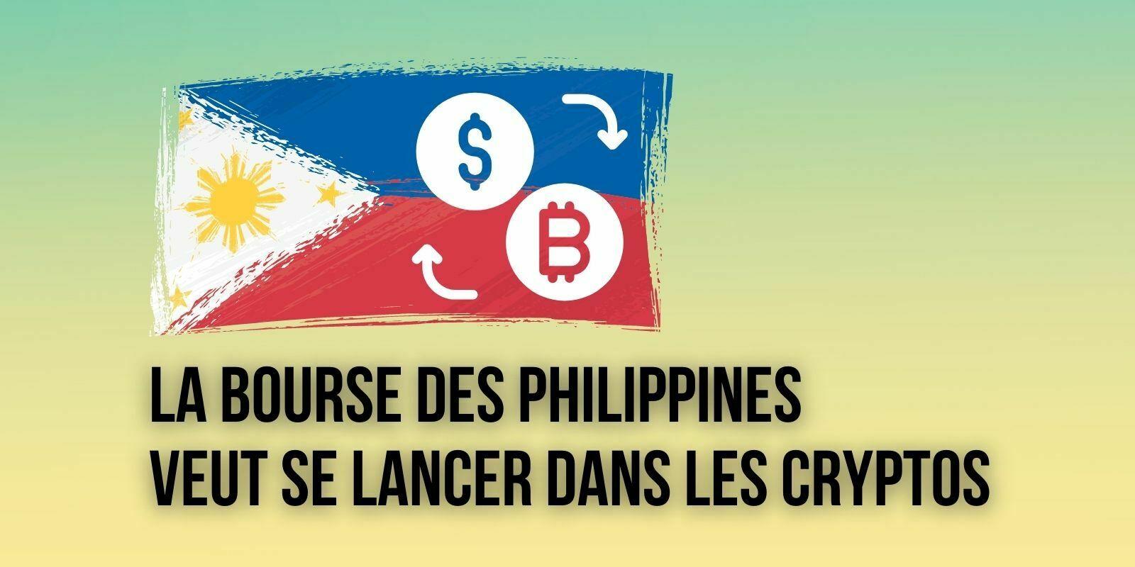 La Bourse des Philippines veut lancer un service de trading de cryptomonnaies