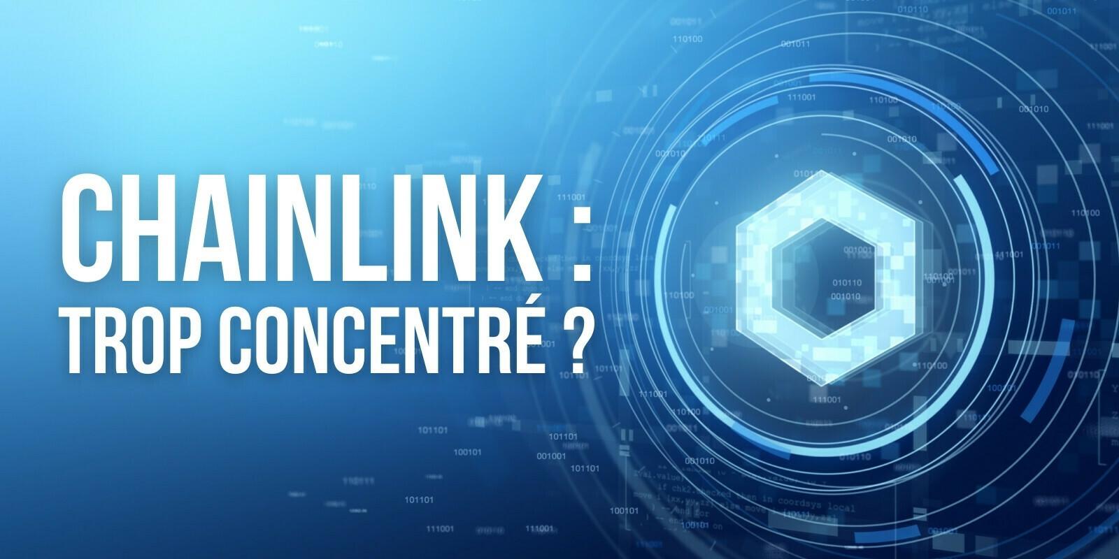 Chainlink: 10 adresses détiennent 63% de tout le LINK