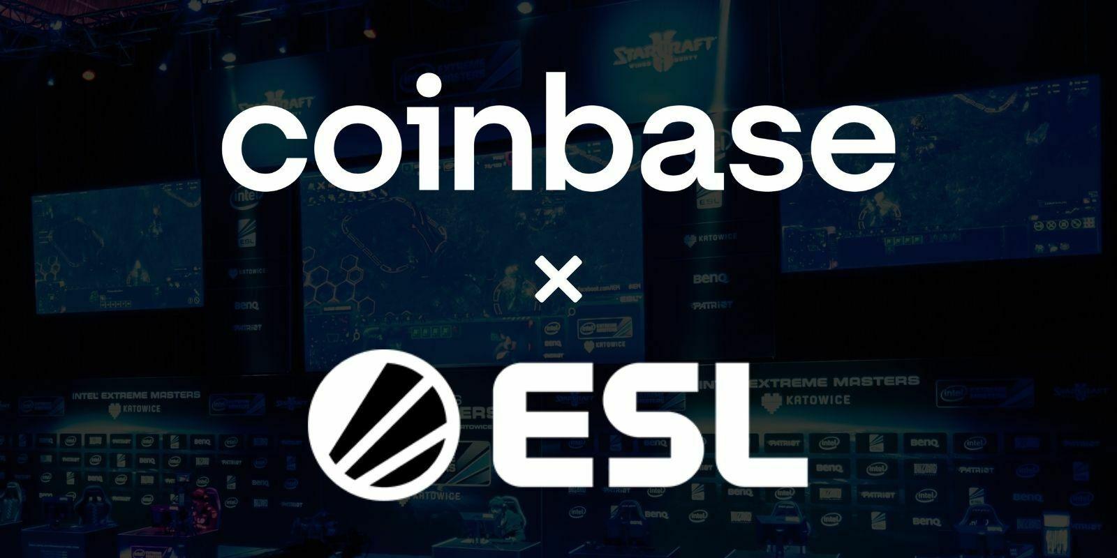 Coinbase signe un partenariat avec l'ESL et renforce sa présence dans l'eSport