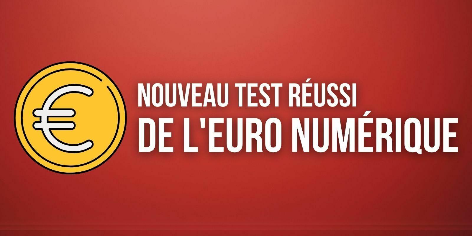 Euro numérique : la Banque de France annonce un 7e test réussi avec la Banque Centrale de Tunisie