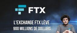 FTX lève 900 millions de dollars pour une valorisation de 18 milliards de dollars