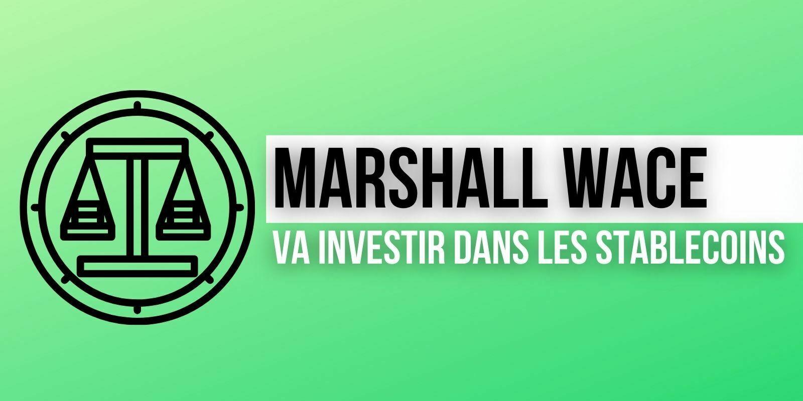 Le fonds spéculatif Marshall Wace veut investir dans les cryptomonnaies, dont les stablecoins