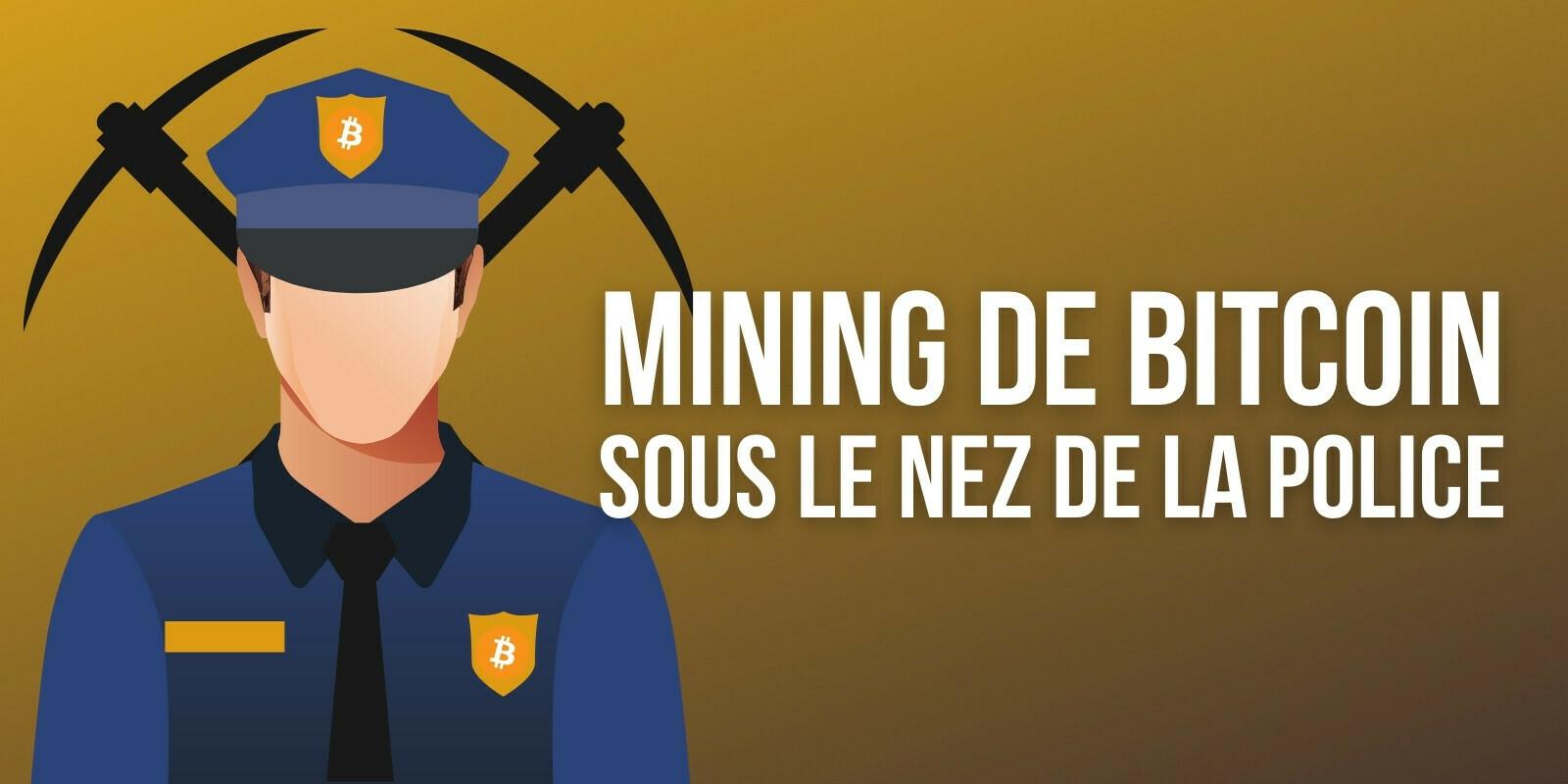 Des bitcoins (BTC) minés clandestinement dans les locaux de la police polonaise