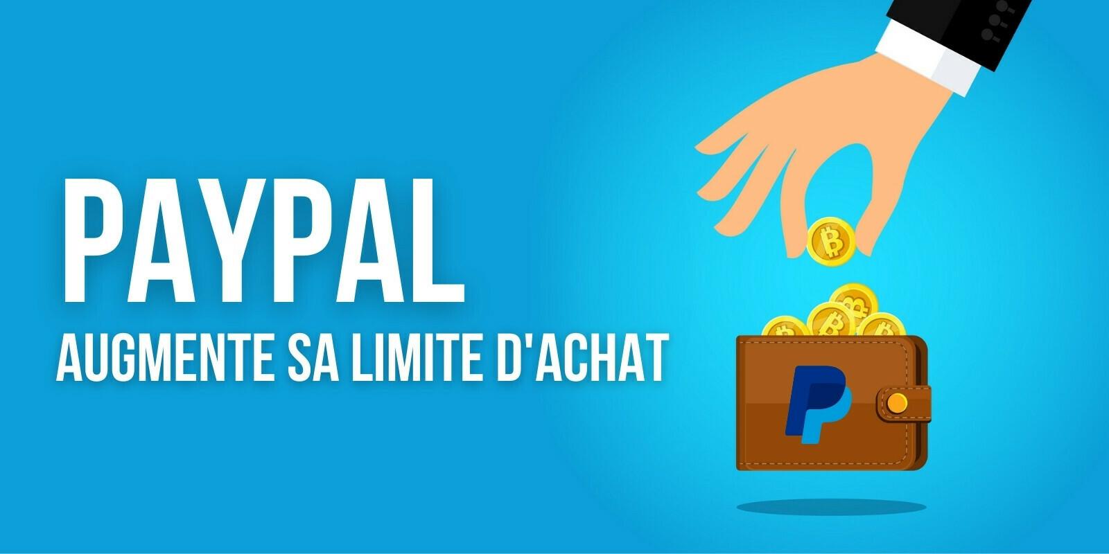 PayPal augmente sa limite d'achat de cryptomonnaies à 100000dollars par semaine