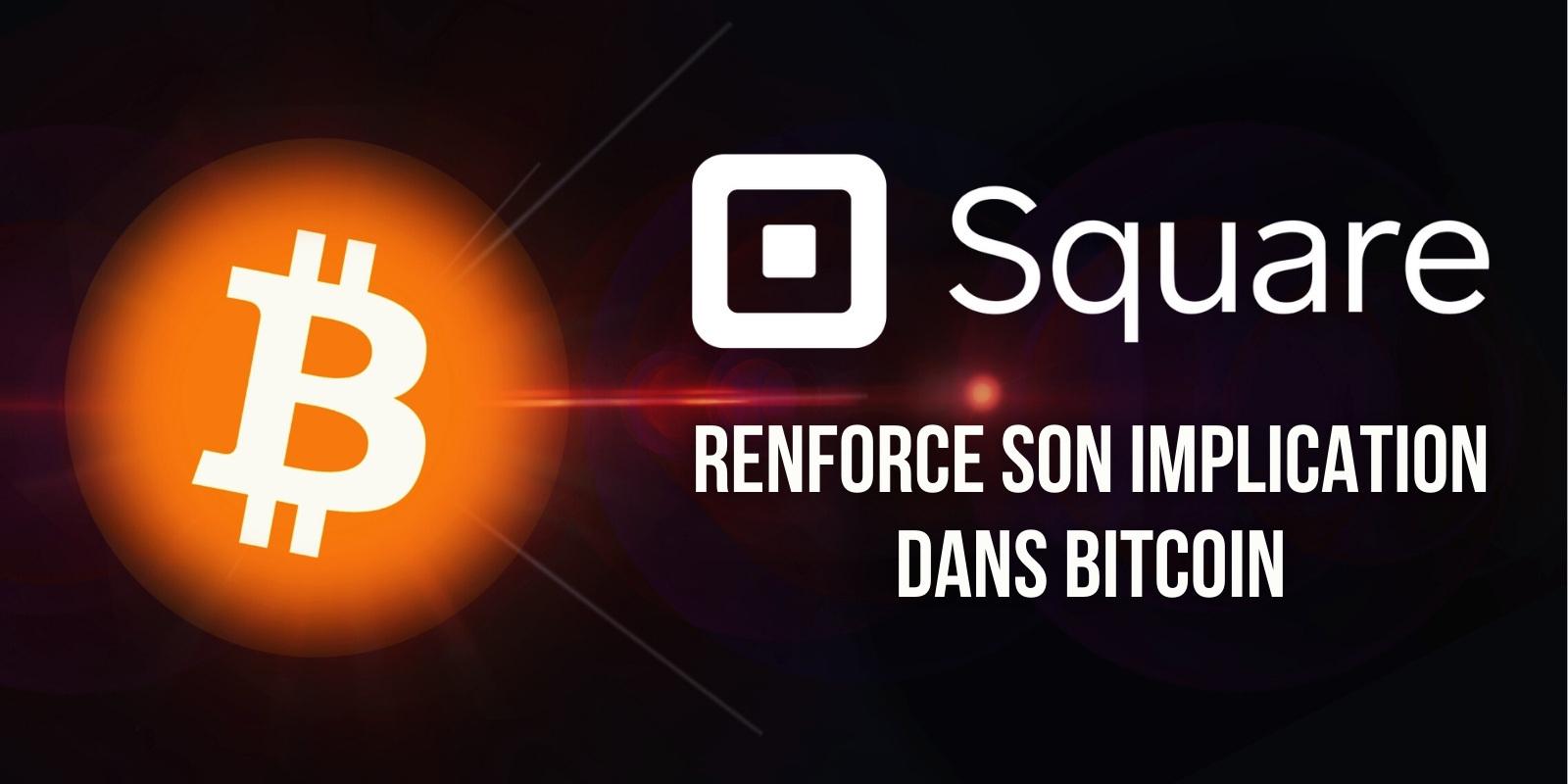 Square crée une nouvelle entreprise de services financiers entièrement dédiée au Bitcoin (BTC)