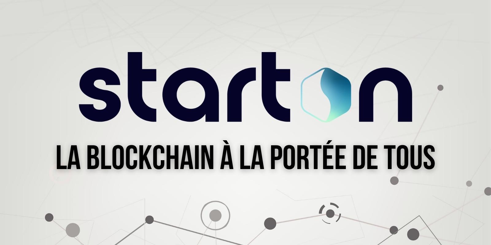 Starton (STT), transformez toute application Web en application blockchain