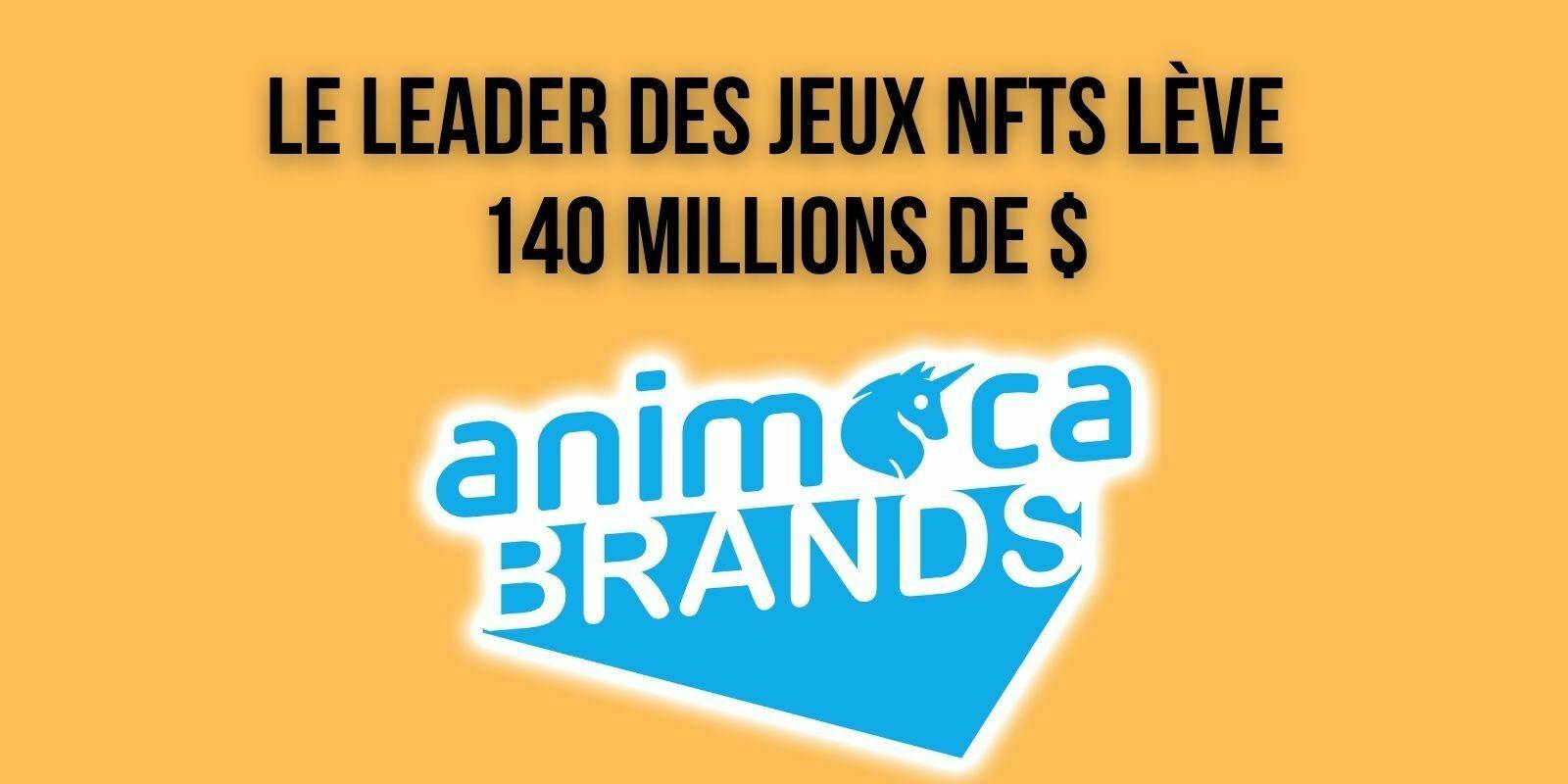 Le studio de jeux NFTs Animoca Brands clôture une levée de fonds de 140 millions de dollars