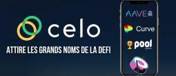 Aave, Curve et Sushi rejoignent l'écosystème de Celo – Le cours du CELO explose son précédent record