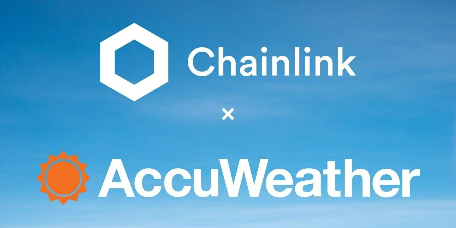 AccuWeather apporte ses données météorologiques à la blockchain en exploitant un nœud de Chainlink (LINK)