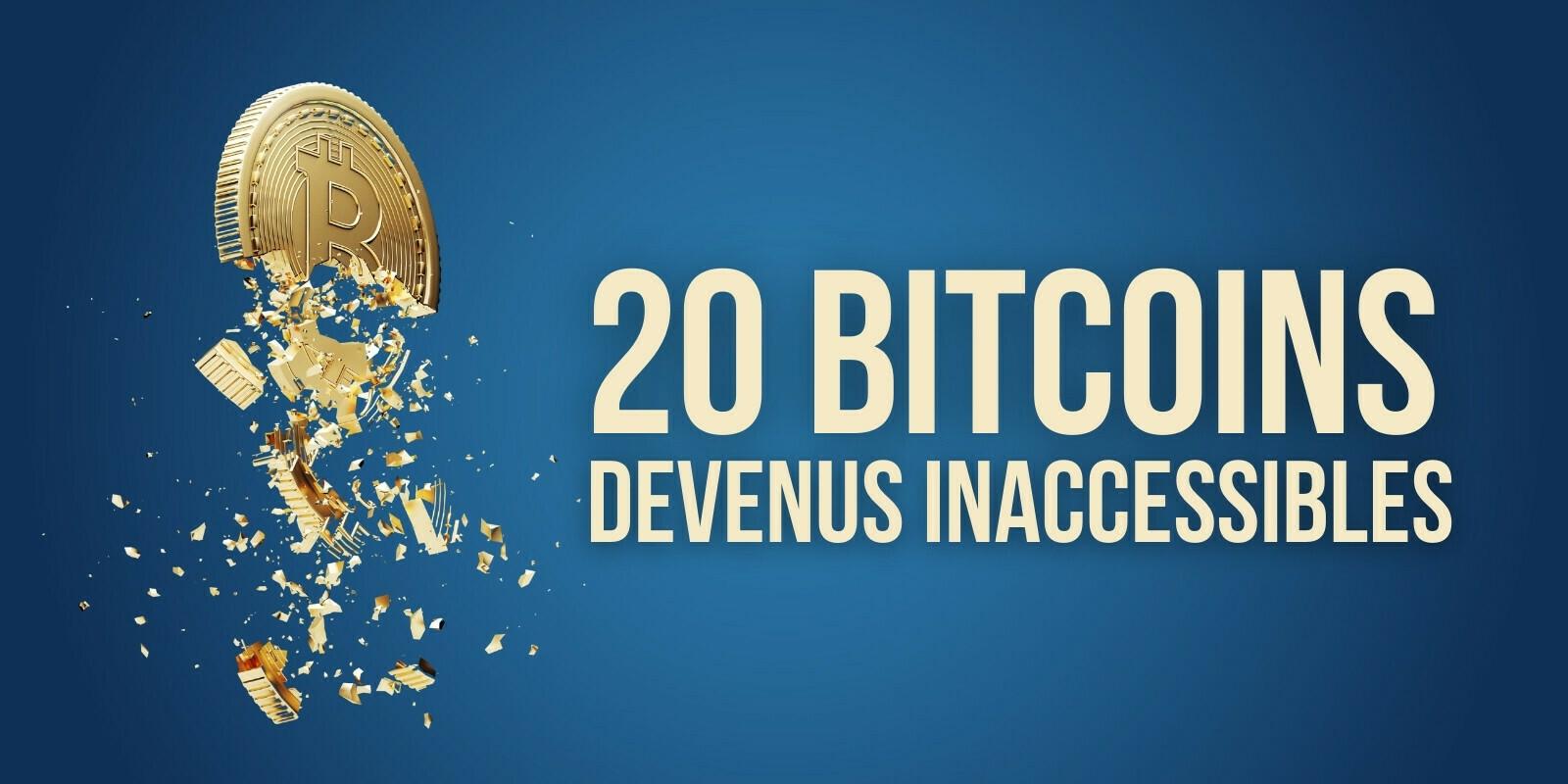 Un ingénieur perd l'accès à un fichier contenant 20 bitcoins (BTC)