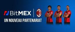 BitMEX signe un accord avec l'AC Milan pour apposer son logo sur les maillots