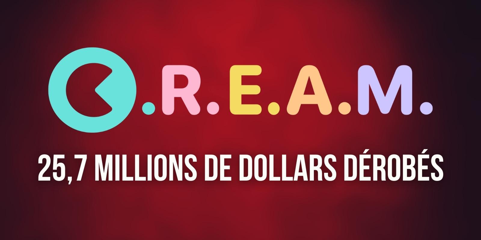 Le protocole Cream Finance se fait dérober 25,7 millions de dollars en ETH et AMP – Une 2e attaque en seulement 6 mois