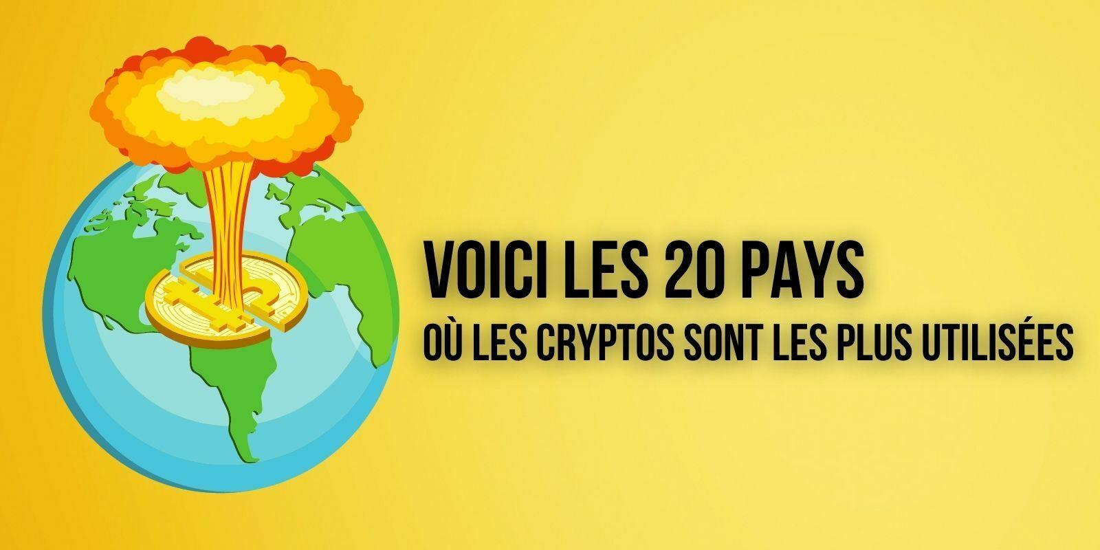 Dans quels pays les cryptomonnaies sont-elles les plus utilisées ?