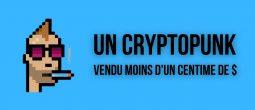 Un CryptoPunk valorisé 69 000 dollars vendu pour moins d'un centime par erreur