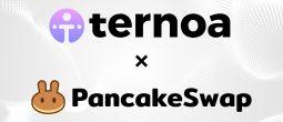 Faites fructifier vos CAPS de Ternoa et profitez de récompenses uniques avec PancakeSwap