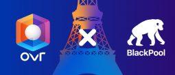 Le fonds décentralisé BlackPool acquiert la tour Eiffel dans le monde virtuel d'OVR