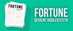 Le magazine Fortune vend des NFT contre 1,3 million de dollars en Ether (ETH)