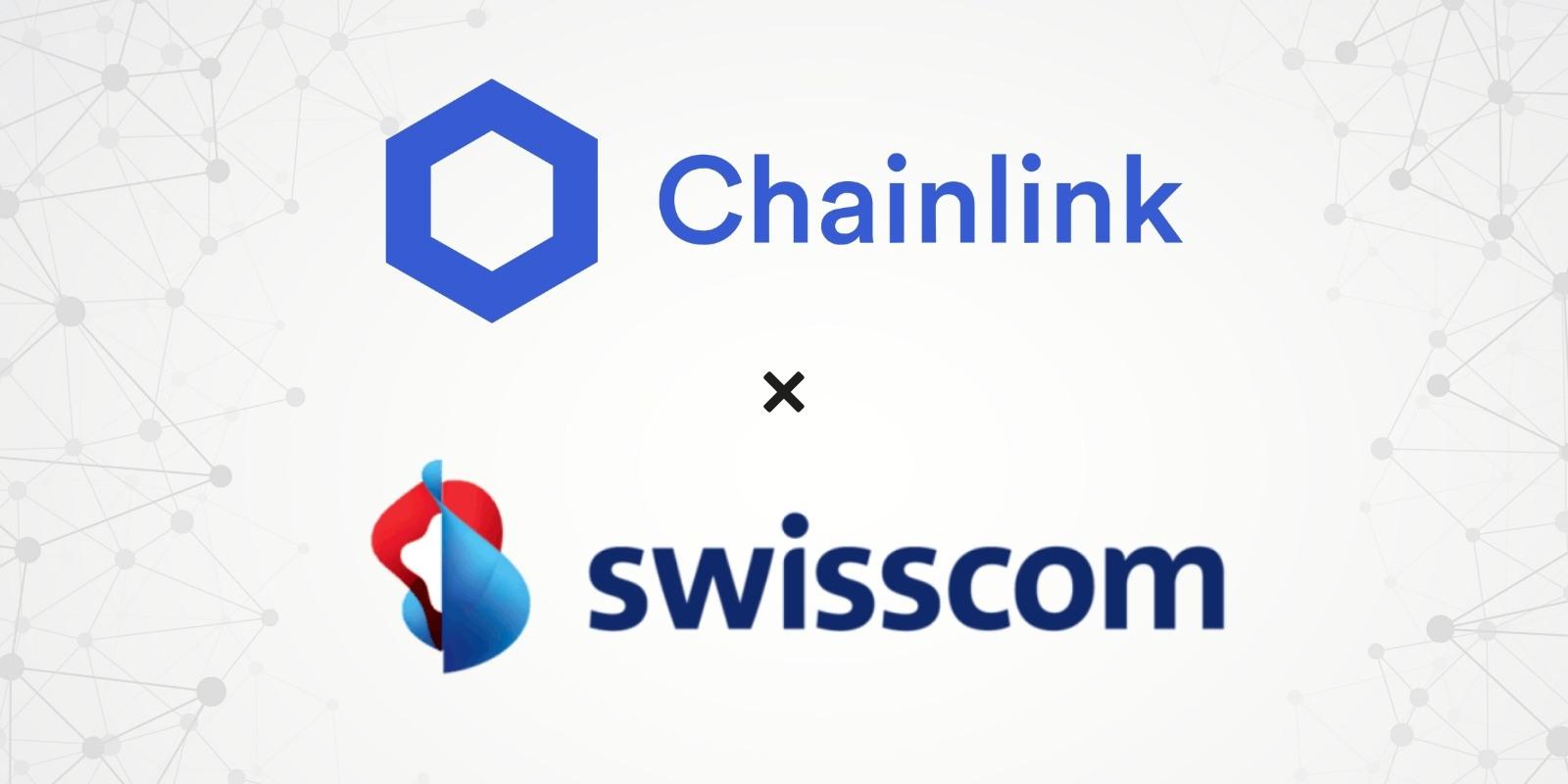 Le géant des télécoms Swisscom opère maintenant un nœud de Chainlink (LINK)
