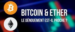 Des perspectives haussières pour le Bitcoin (BTC) et l'Ether (ETH)