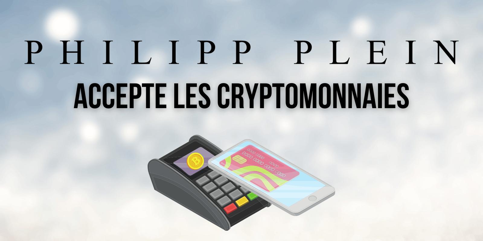 Philipp Plein devient la première marque de vêtements de luxe à accepter les cryptomonnaies