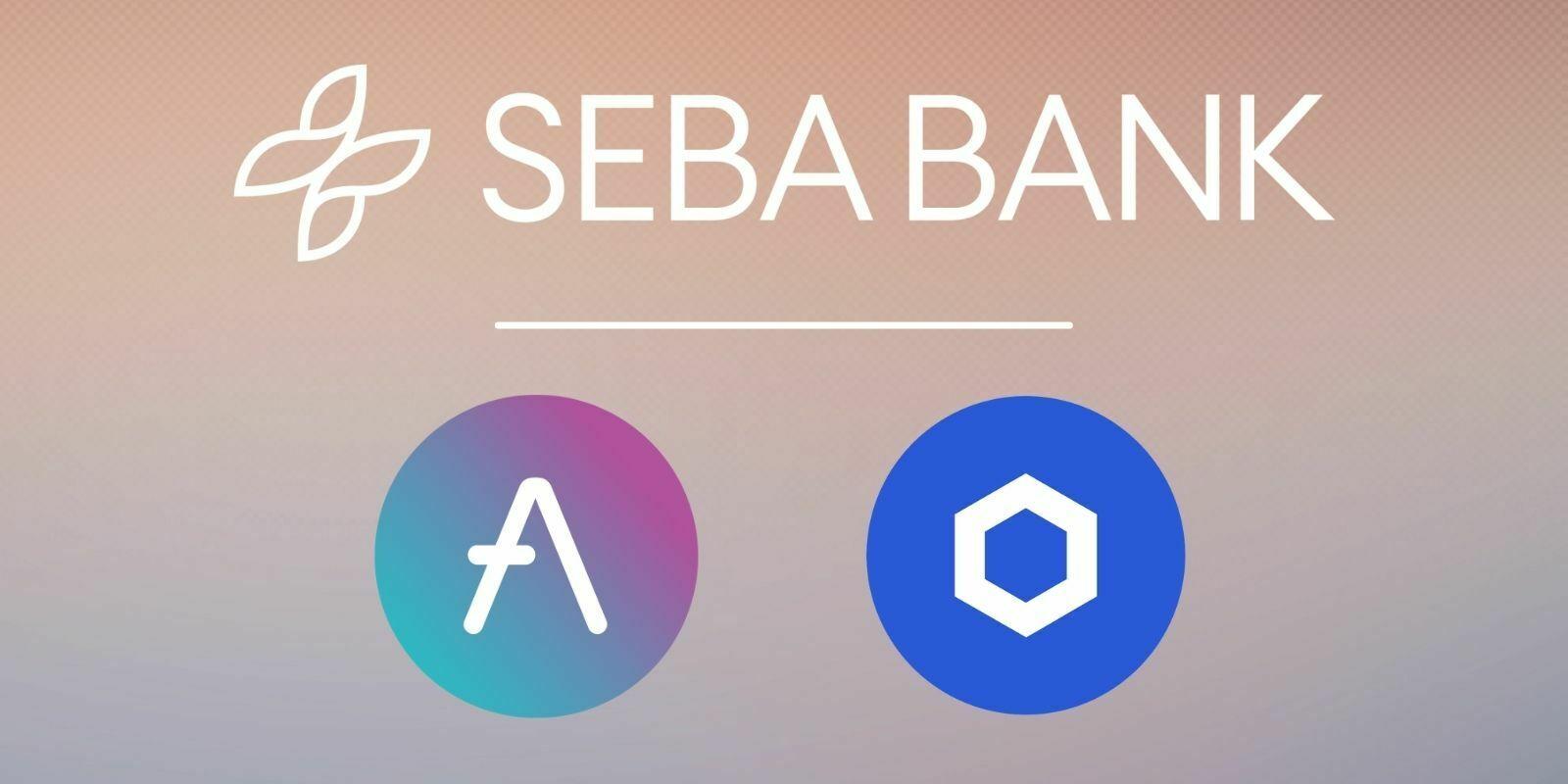 Suisse : la crypto-banque SEBA ajoute les tokens AAVE et LINK à son service de finance décentralisée (DeFi)