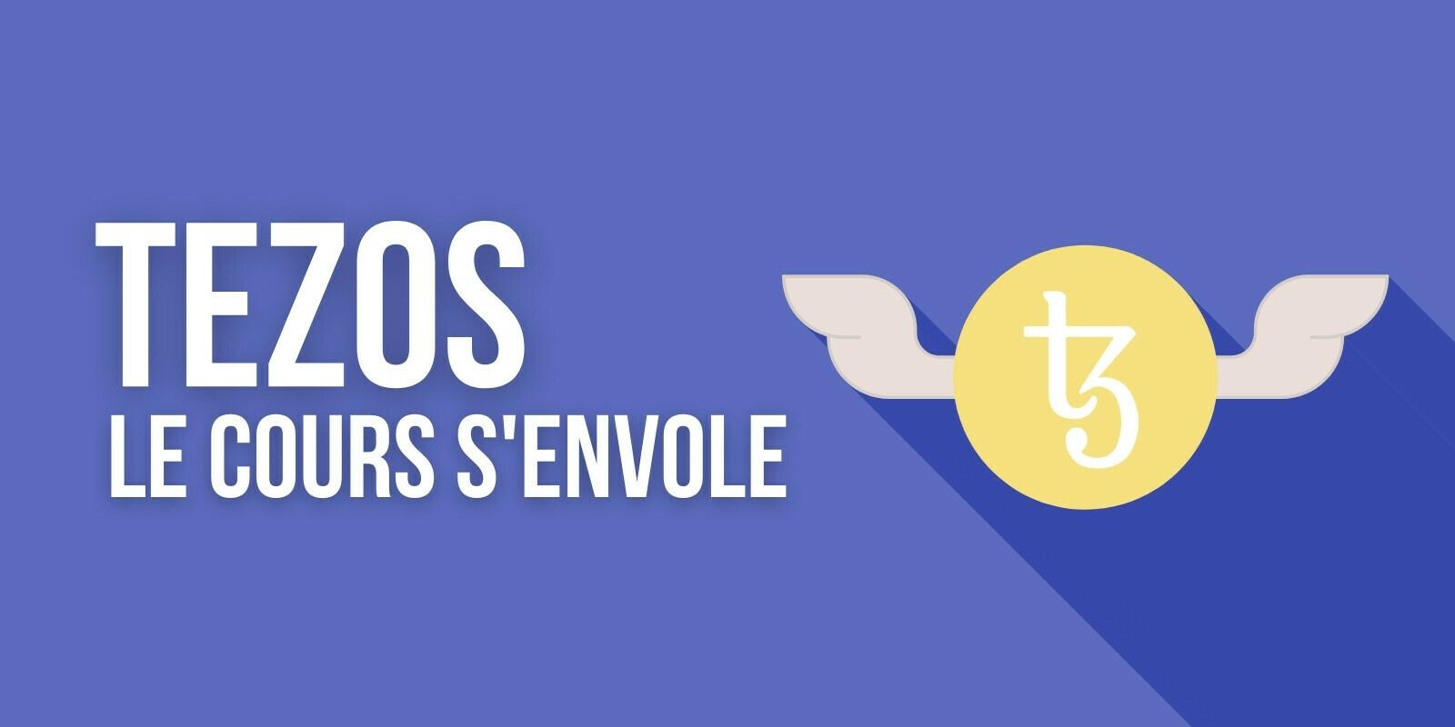Pourquoi le cours du Tezos (XTZ) a-t-il pris +50% sur la semaine?