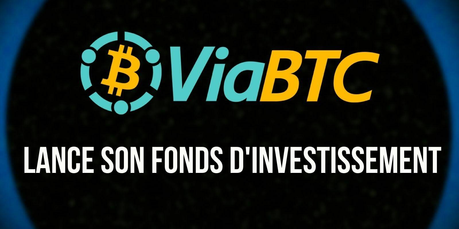 ViaBTC lance un fonds d'investissement dédié au Web 3.0 et à la finance décentralisée (DeFi)