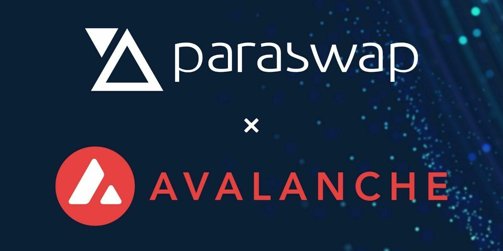 L'agrégateur de DEX ParaSwap rejoint l'écosystème de la blockchain Avalanche (AVAX)