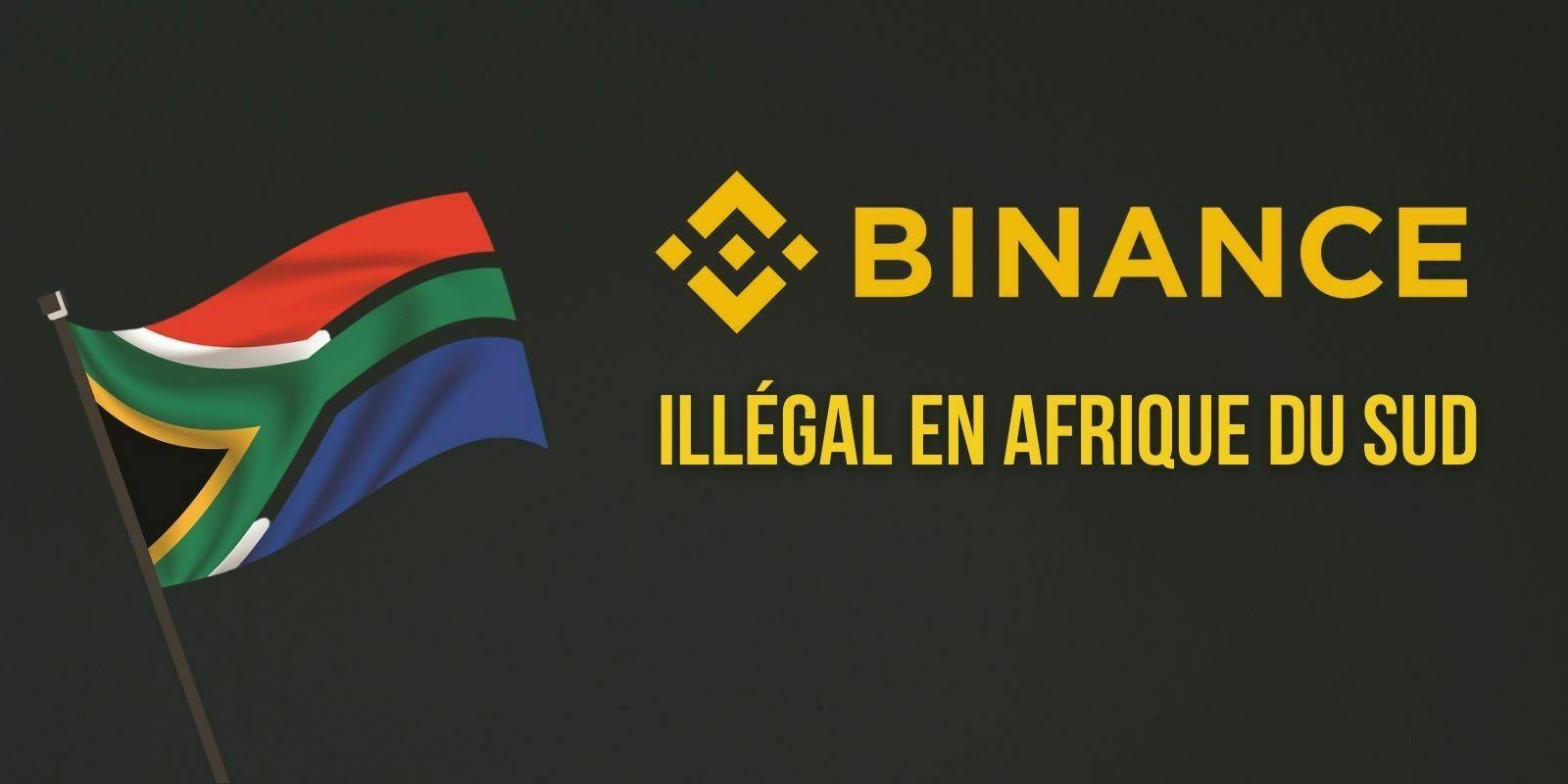 Binance n'a pas l'autorisation de proposer ses services en Afrique du Sud selon le régulateur financier local