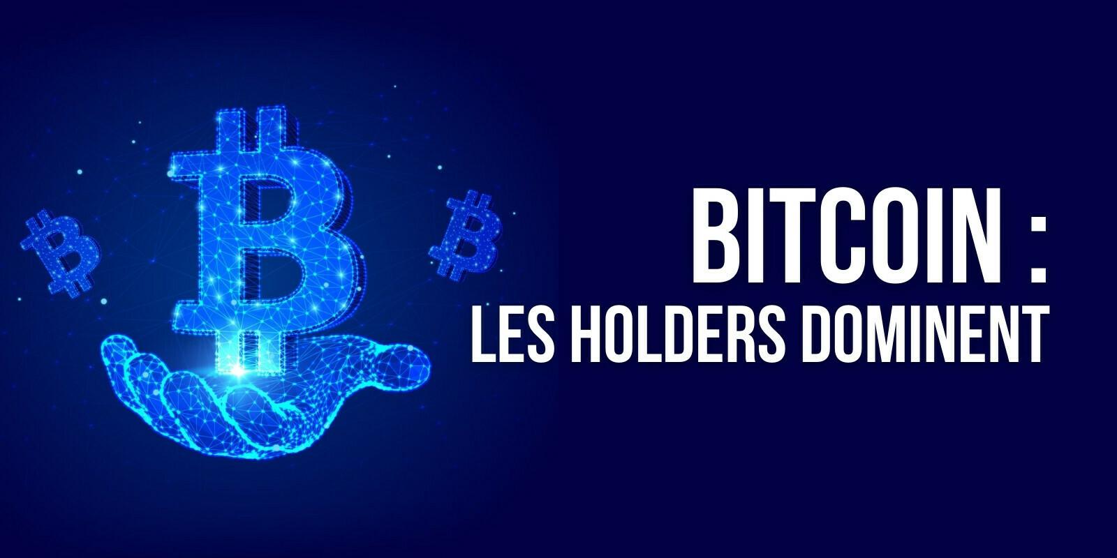 80% de tout le Bitcoin (BTC) serait désormais détenu par des holders sur le long terme