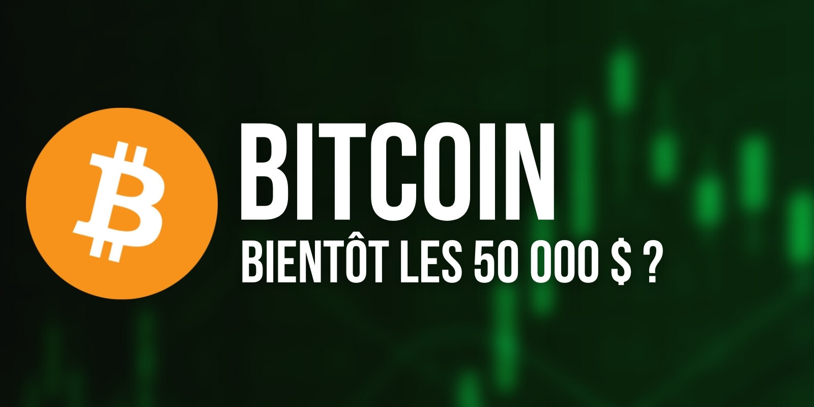 Bitcoin (BTC) – Vers un retour possible au-dessus des 50 000 dollars ?