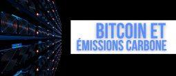 Bitcoin (BTC): le minage ne dépassera pas 0,9% des émissions carbone mondiales d'ici à 2030