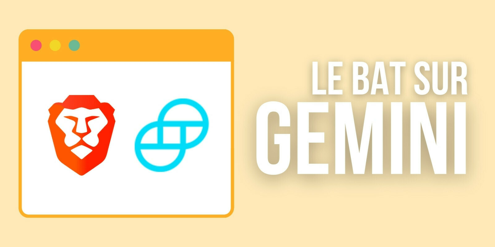 Les utilisateurs de Brave peuvent désormais retirer leurs Basic Attention Tokens (BAT) vers Gemini