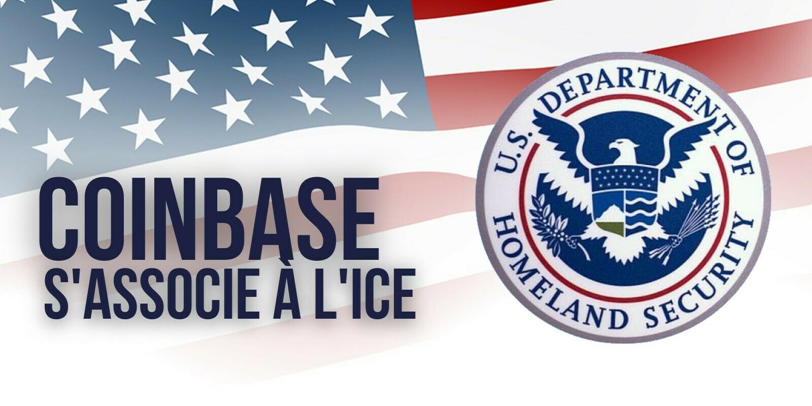 Coinbase signe un partenariat avec l'agence de contrôle de l'immigration des États-Unis