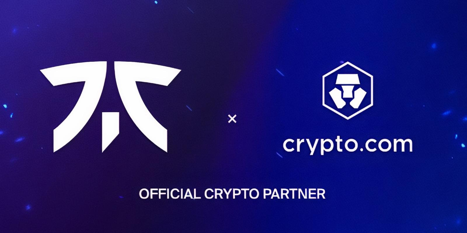 Crypto.com (CRO) débarque dans l'e-sport en s'offrant un partenariat avec Fnatic