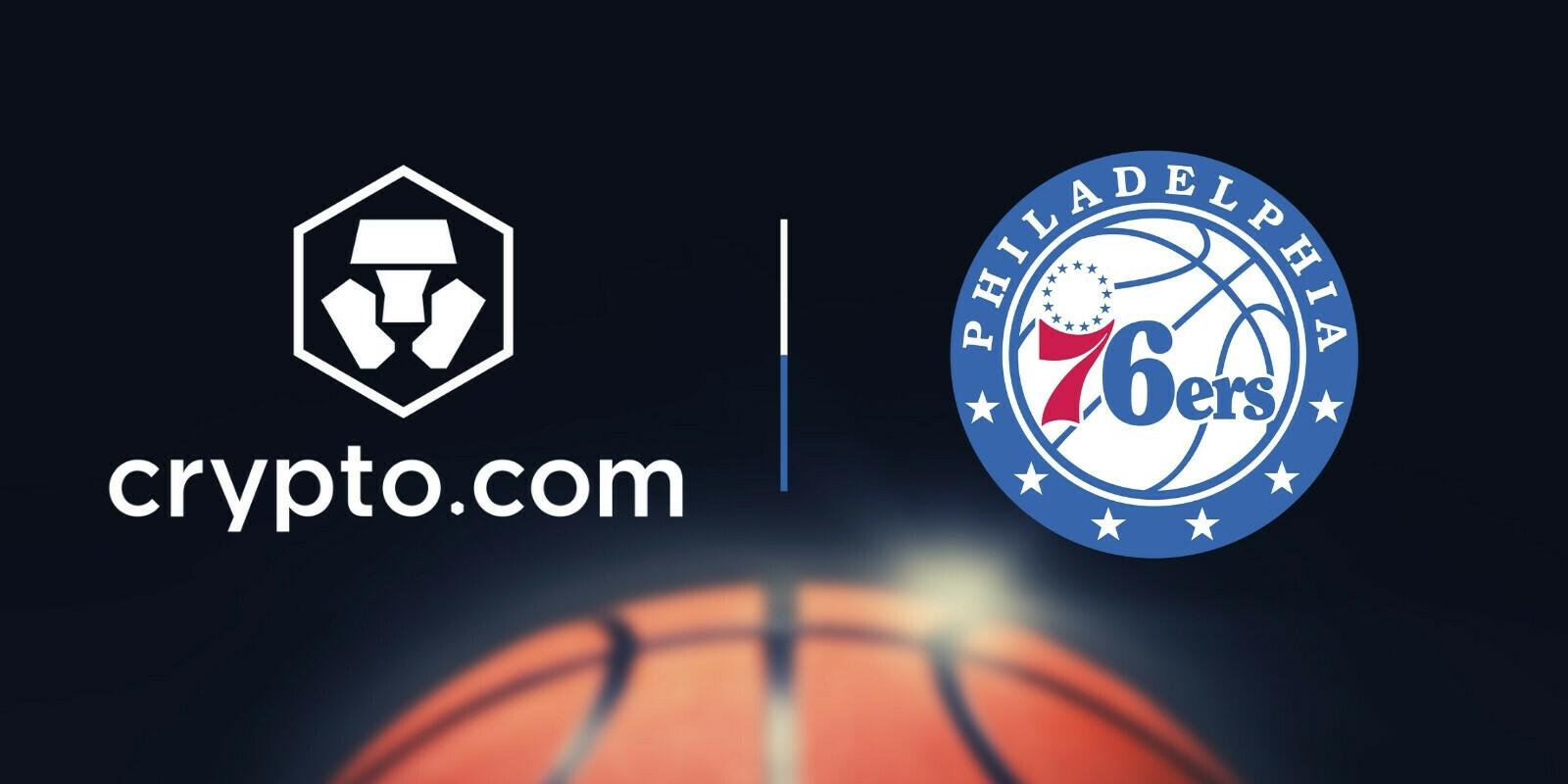 La plateforme Crypto.com (CRO) signe un partenariat avec les 76ers de Philadelphie