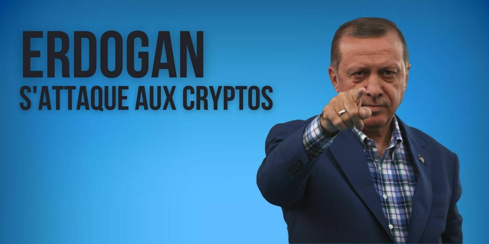 Le président Erdogan estime que la Turquie est «en guerre contre les cryptomonnaies»