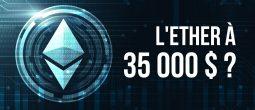 La banque Standard Chartered estime que l'Ether (ETH) atteindra entre 26 000 et 35 000 $
