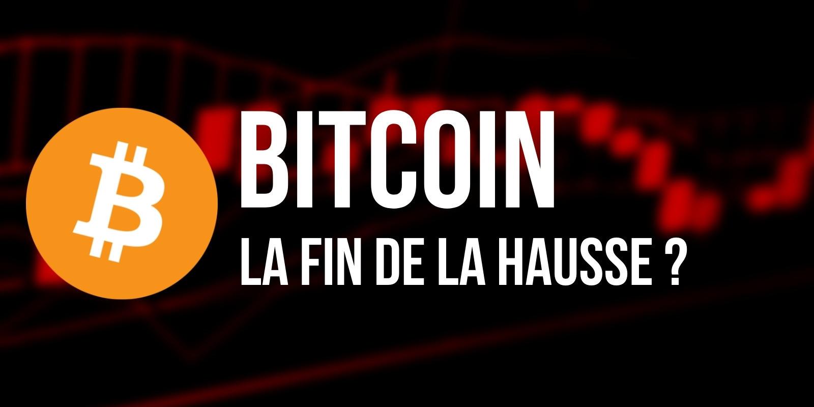 Est-ce déjà la fin de la hausse pour le Bitcoin (BTC) ?