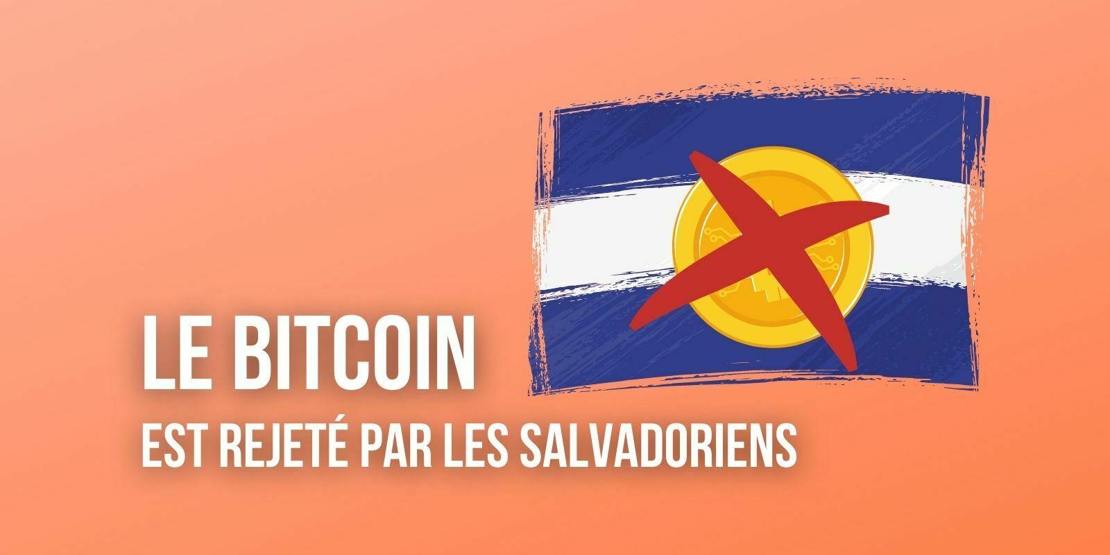 Salvador : 70% des habitants sont contre l'adoption du Bitcoin (BTC) comme monnaie légale