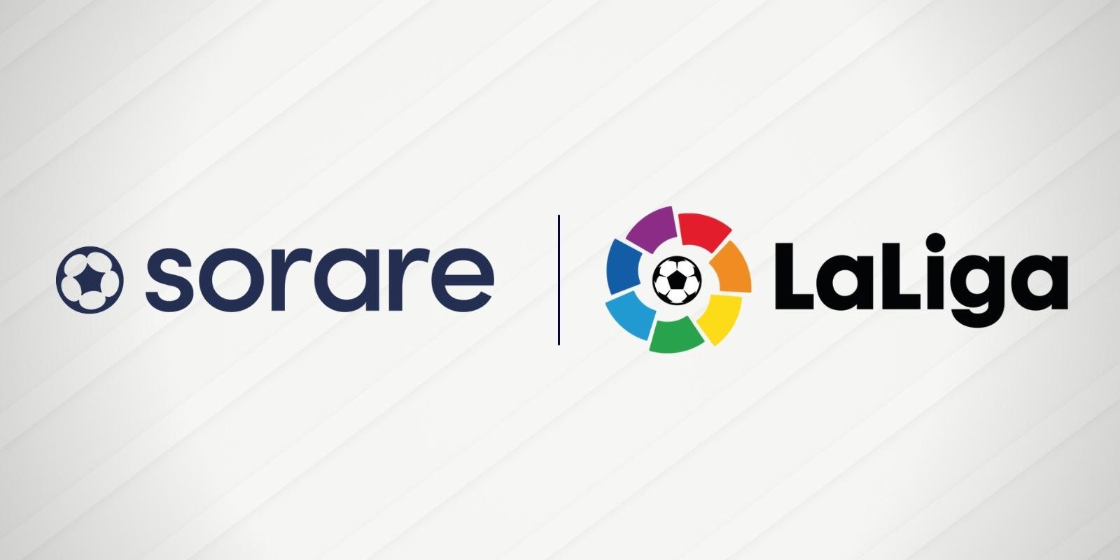 LaLiga s'associe au jeu blockchain Sorare et entre dans le monde des NFTs