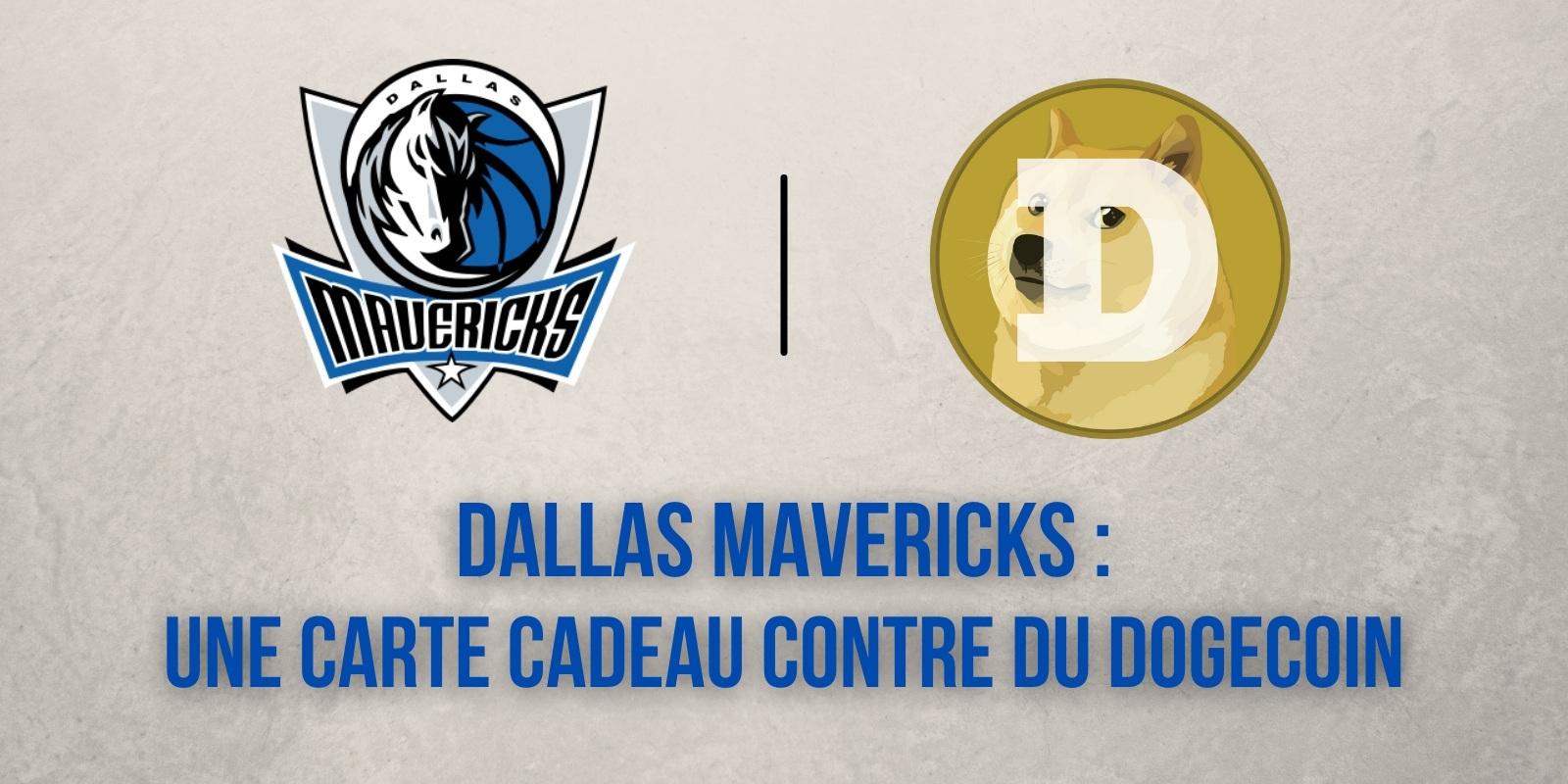 Les Mavericks de Dallas récompensent les fans faisant des achats avec du Dogecoin (DOGE)