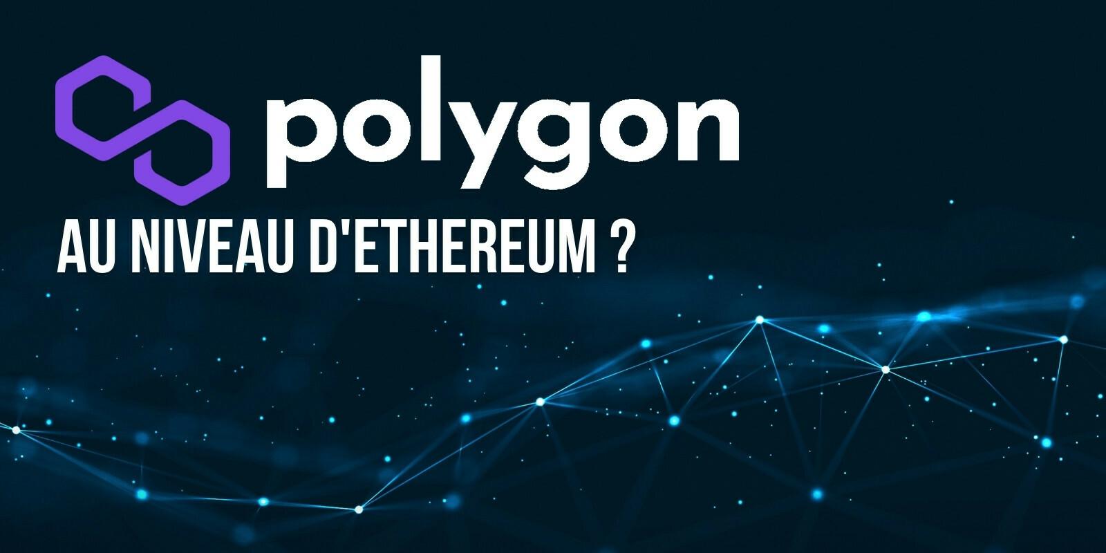 Les adresses actives de Polygon (MATIC) ont brièvement dépassé celles d'Ethereum (ETH)
