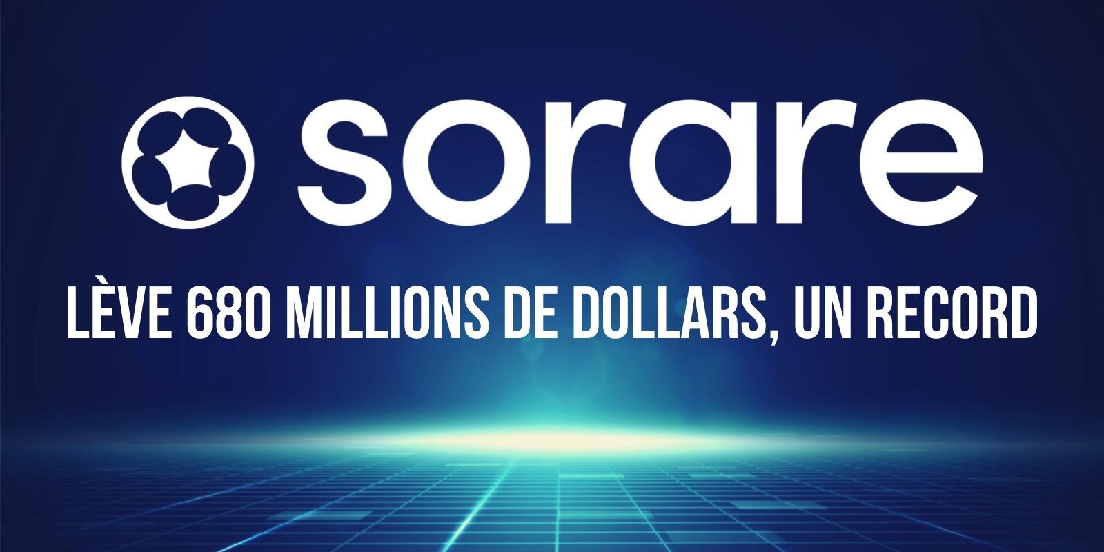 Sorare conclut une levée de fonds record de 680 millions de dollars en vue de créer le prochain géant des NFTs