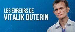 Vitalik Buterin admet les erreurs commises lors de la création d'Ethereum (ETH)