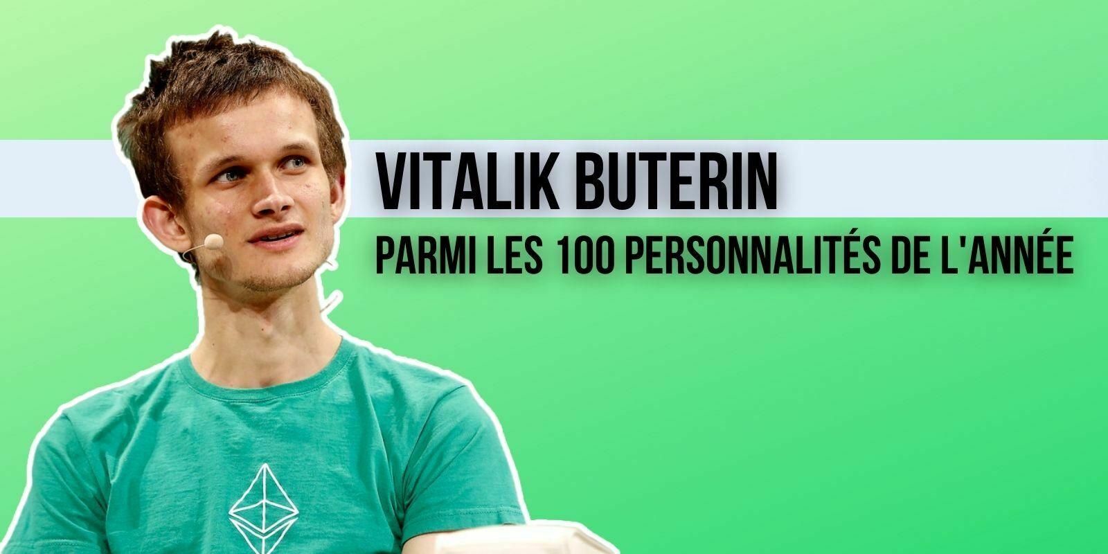 Vitalik Buterin est l'une des 100 personnalités les plus influentes de 2021 selon Time Magazine