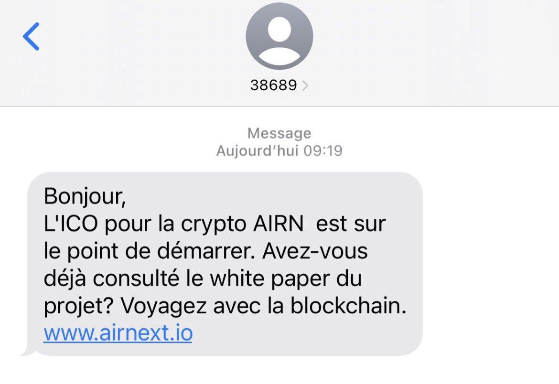 Air Next SMS