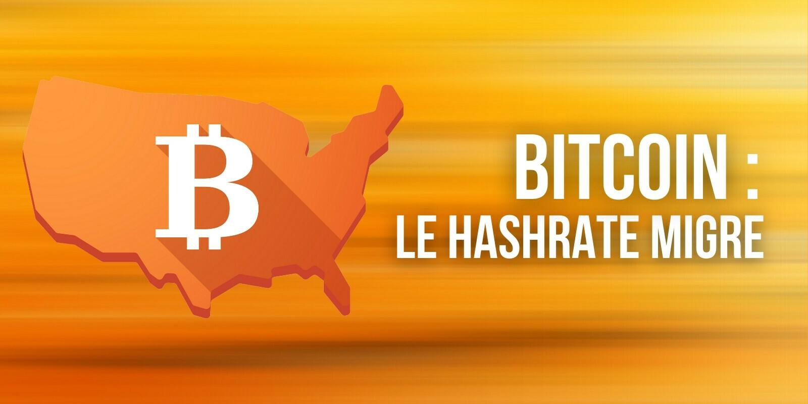 Bitcoin (BTC): la majorité du hashrate provient désormais des États-Unis