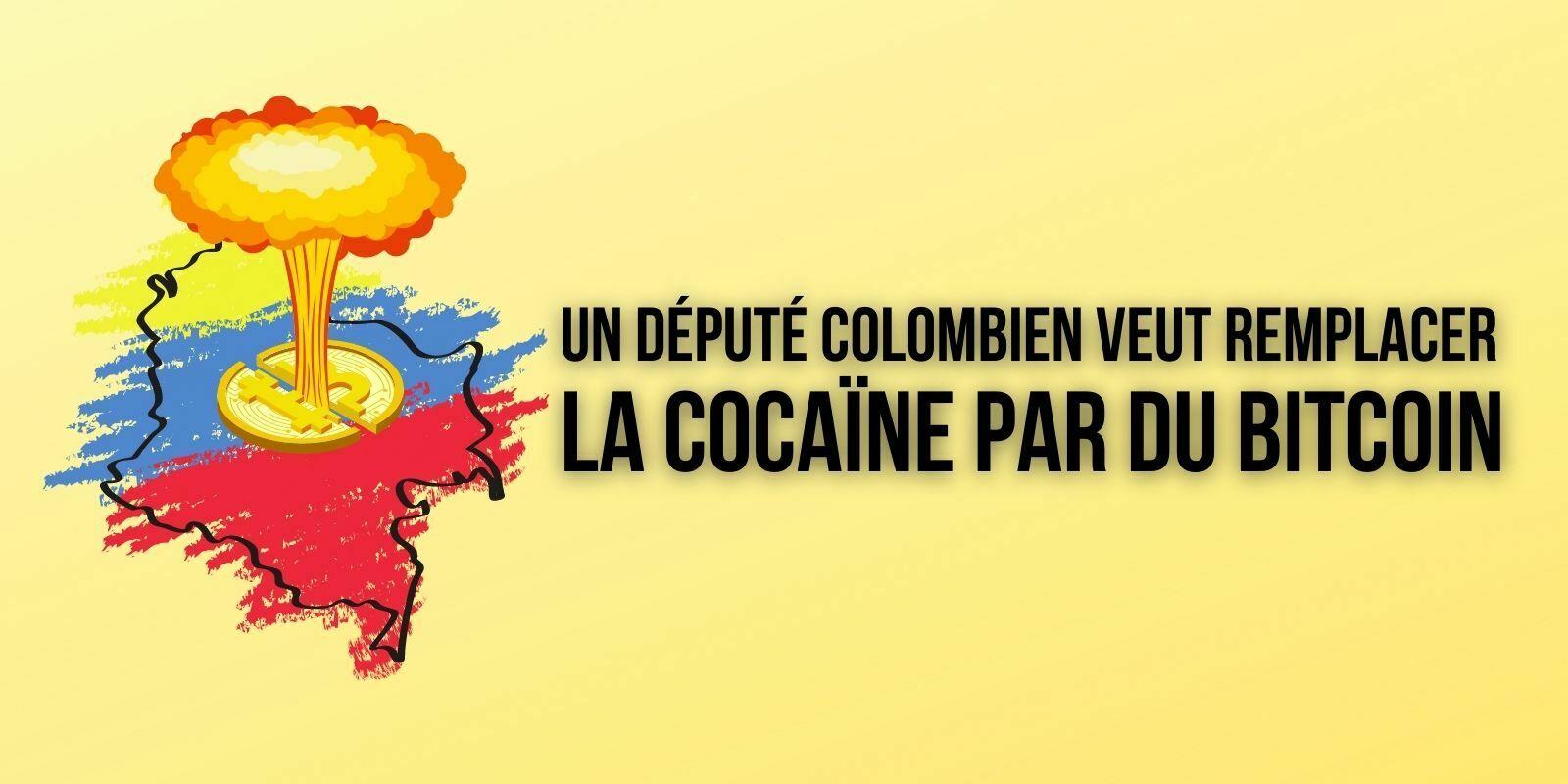 Colombie : un sénateur propose de miner du Bitcoin (BTC) plutôt que de produire de la cocaïne