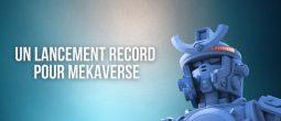 Le projet de NFTs MekaVerse bat tous les records à son lancement